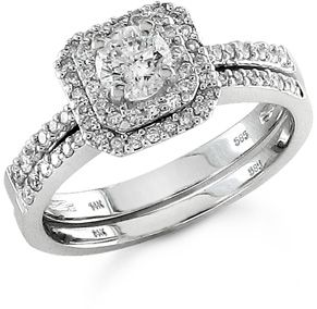 Diamond bridal sets provide perfectly coordinated style that will