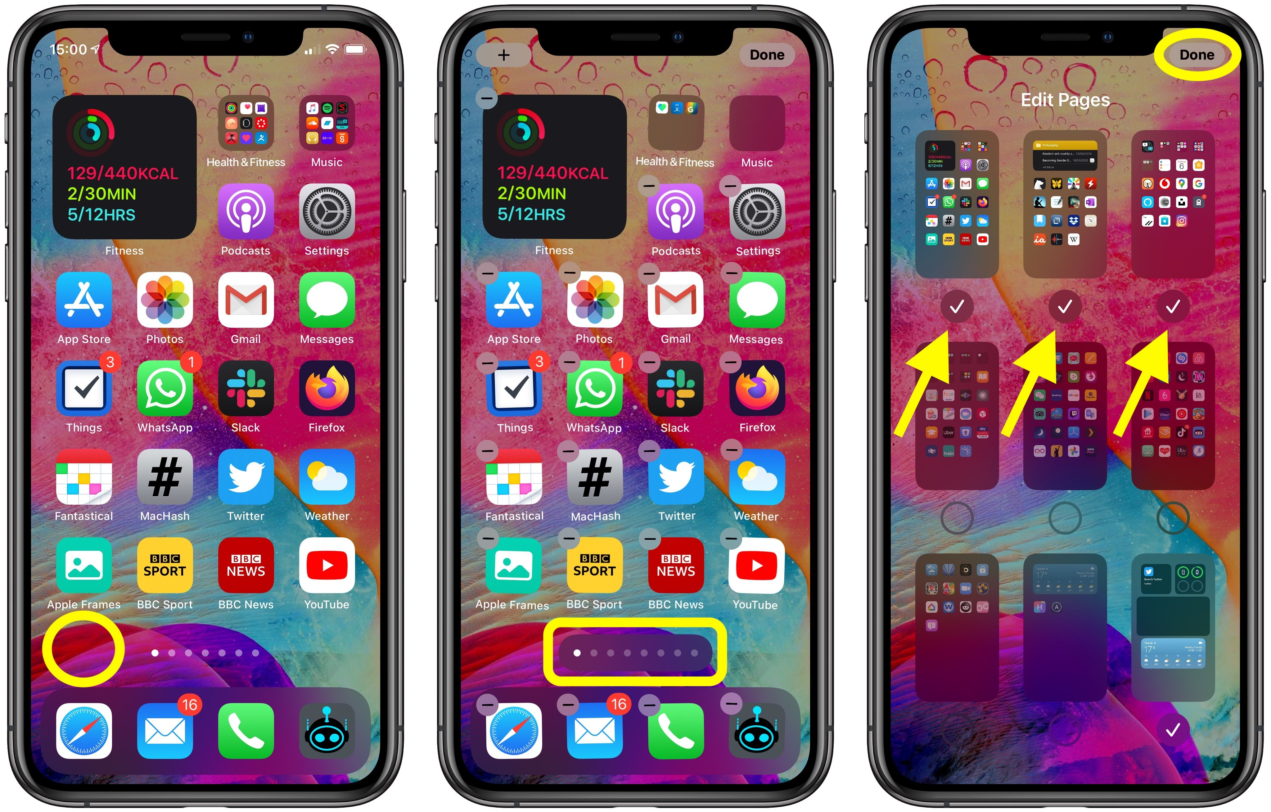 How To Hide Home Screen App Pages On Iphone In Ios 14 Https Replug Link 1711ea80 In 2020 Homescreen Hide Apps Iphone Organization