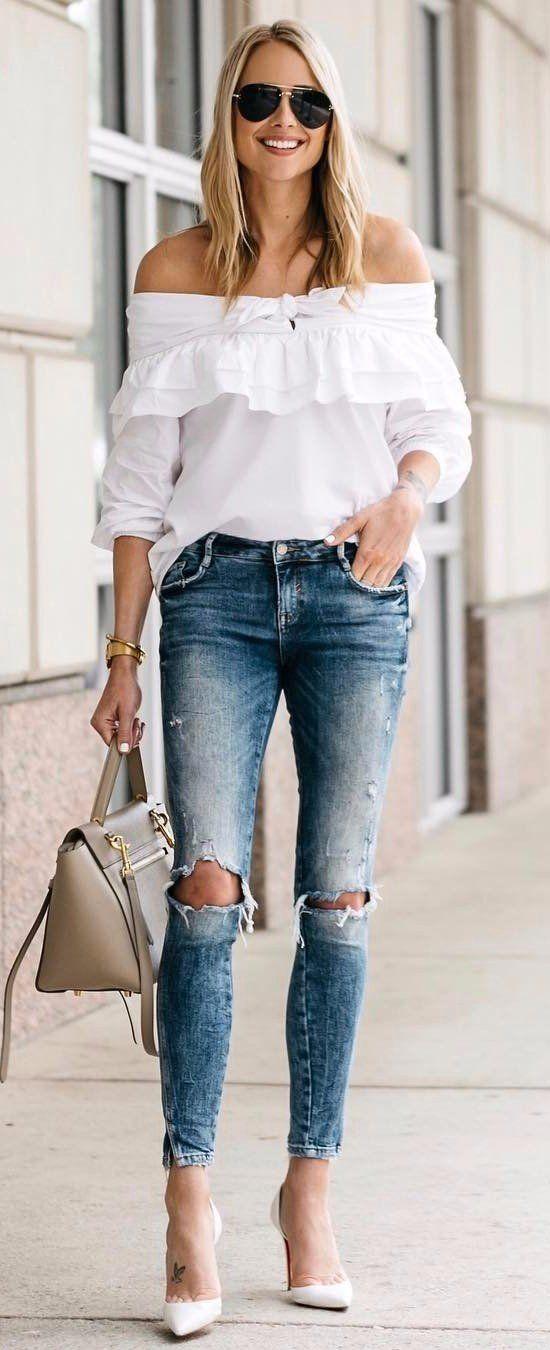 || Rita and Phill specializes in custom skirts. Follow Rita and Phill for more white blouse images.  https://www.pinterest.com/ritaandphill/the-white-blouse?utm_content=buffer333f0&utm_medium=social&utm_source=pinterest.com&utm_campaign=buffer?