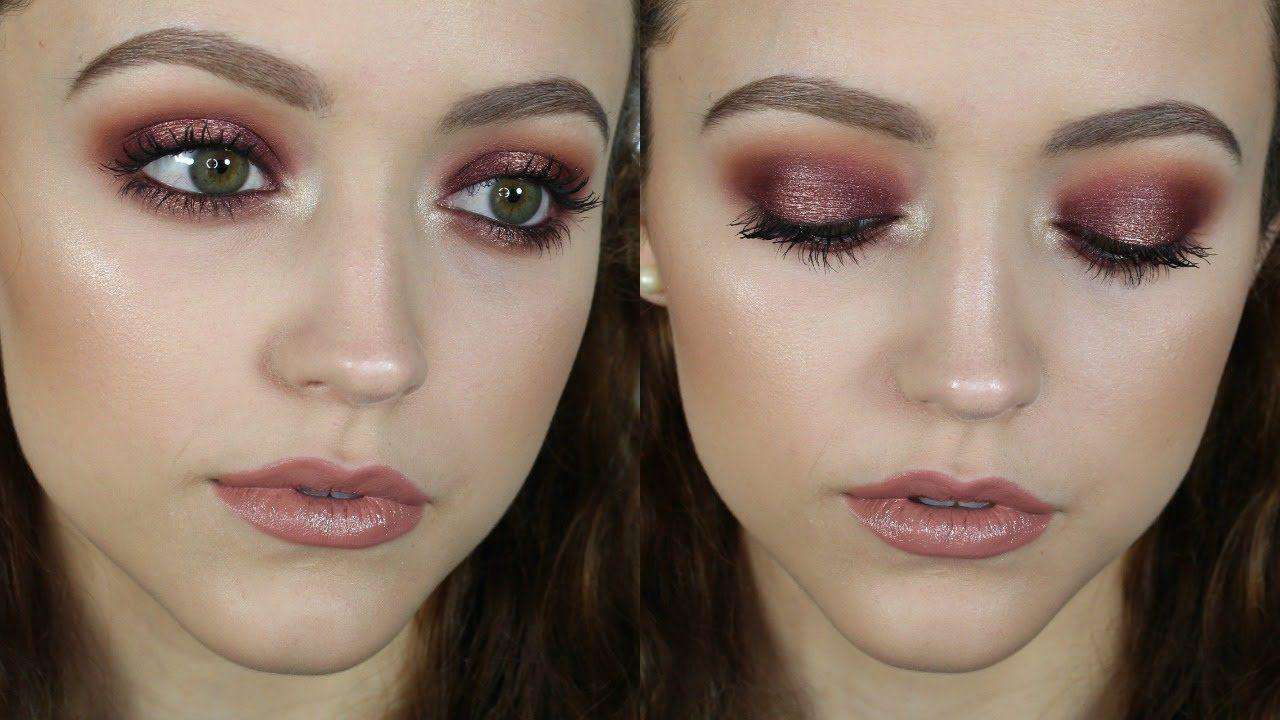 Rose Gold Pop Makeup Tutorial Using Colourpop shadows
