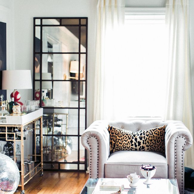 my favorite leopard fabric  interior home living room