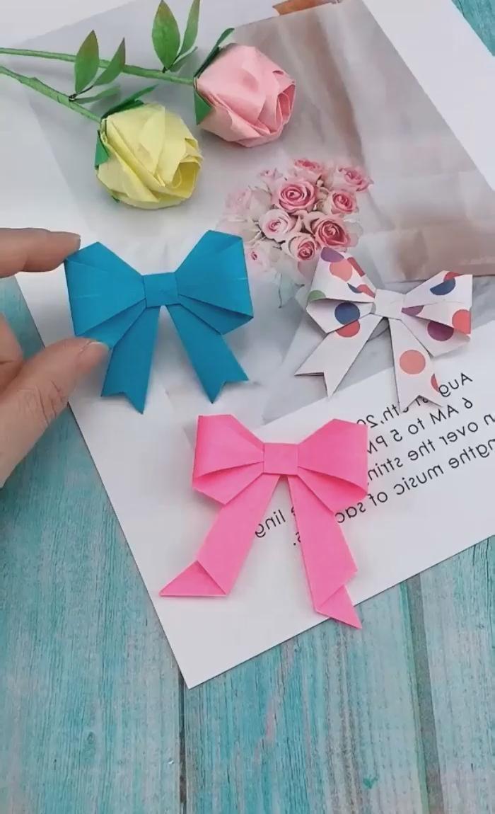 Photo of Cómo hacer Moños de papel – Origami!
