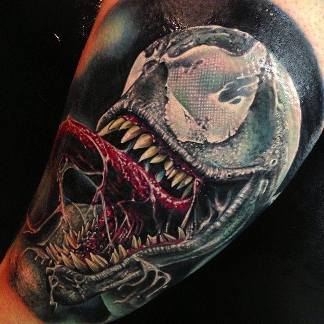 Venom Tattoo Designs: Venom - Spiderman - Tattoo - Tatuaje