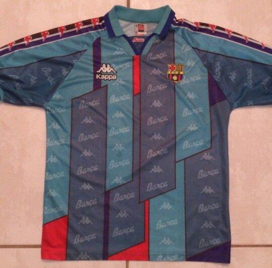 fcb90aec8a Vintage KAPPA Barcelona Soccer Jersey