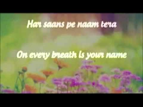 Tum Hi Ho Lyrics | With English Translation - YouTube