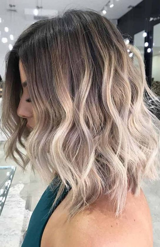 Normal Hair Color Trends for Short Hairstyles 2018 | Hair ...
