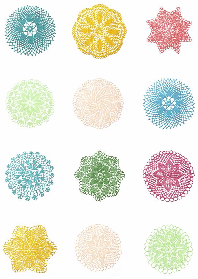 """it's a doily world"" by Sílvia Silva in raparigascomonos"