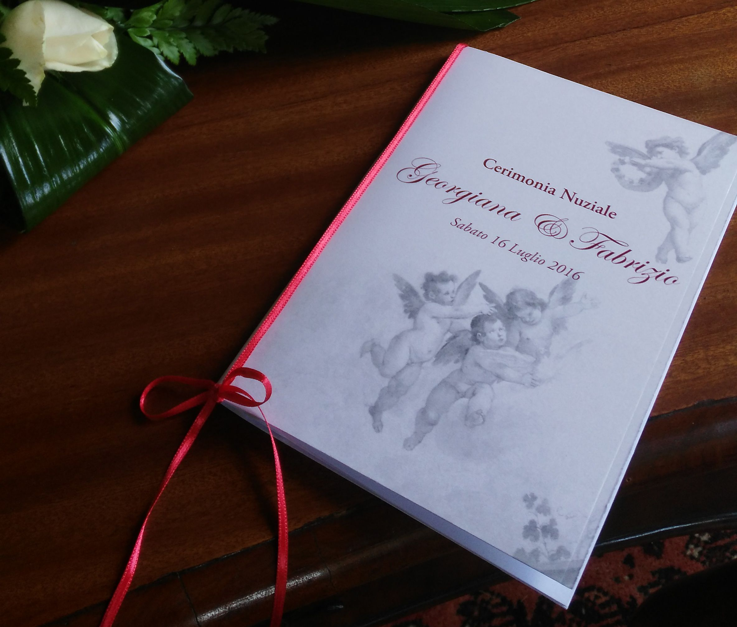 Matrimonio Simbolico Libretto : Un libretto messa per una cerimonia simbolica con il rito della
