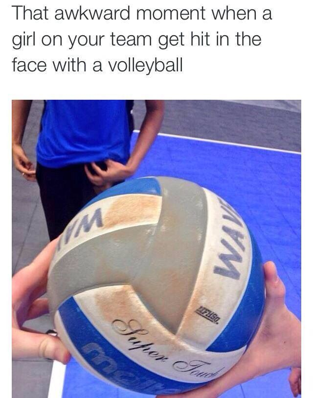 Don T Wear Makeup To Practice Volleyball Jokes Volleyball Humor Volleyball