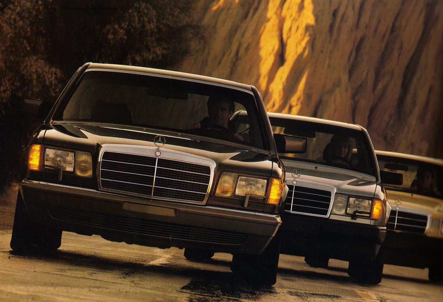Mercedes w126 s class mercedes w126 s class 1979 1991 for Mercedes benz 80s