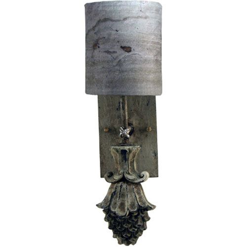 Four Seasons Spring Gray One-Light Wall Sconce