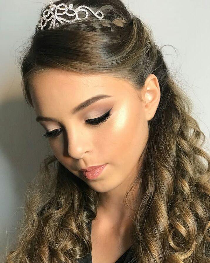 Maquillaje de noche para xv anos