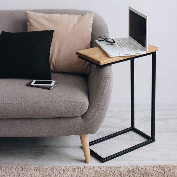 BestLoft® Beistelltisch Laptoptisch Sofatisch Betttisch Couchtisch Holz