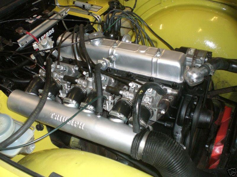 Triumph Tr6 2499cc Straight Six Fuel Injection Engine Cars