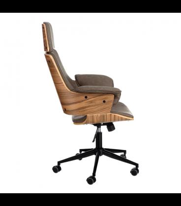 Fauteuil De Bureau Cronos Gris Fauteuil Bureau Fauteuil De Bureau Confortable Chaise De Bureau Confortable