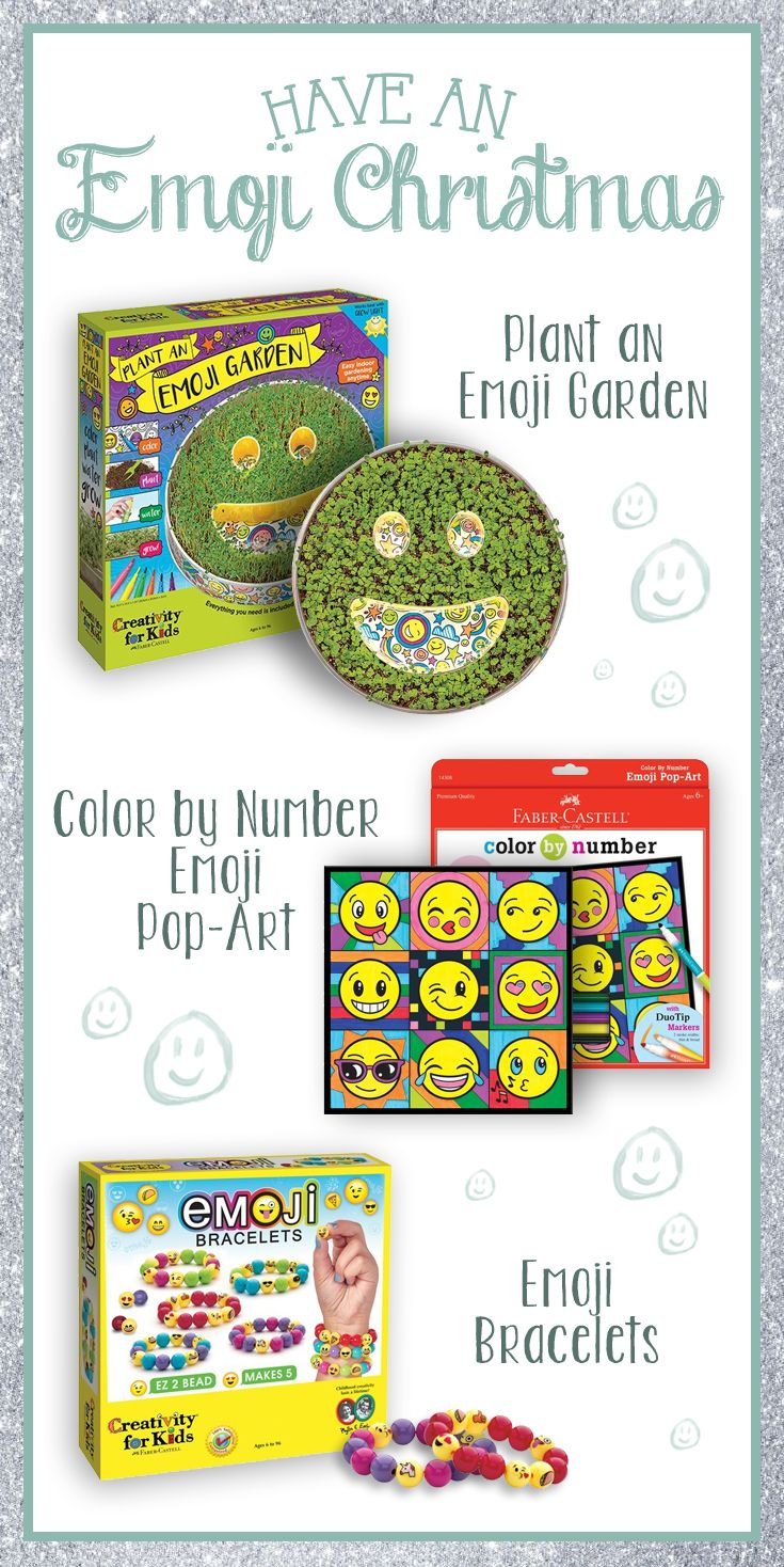 Everybody loves Emojis! Celebrate the holidays with Faber-Castell ...