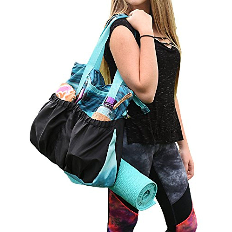 4292265716cc LotusandGo Yoga Bag or Yoga Tote, Stylish and Durable with ...