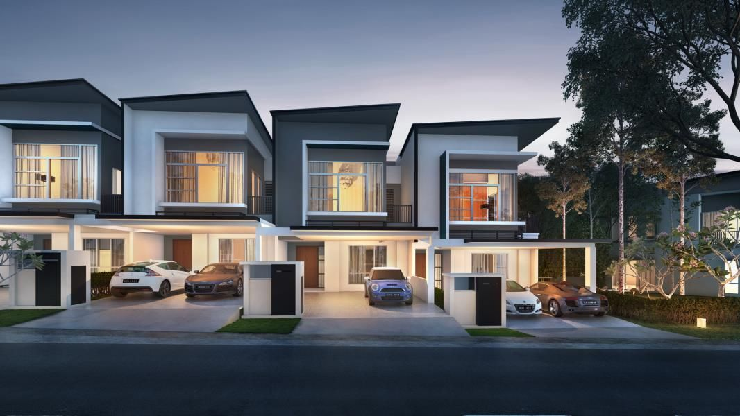 New Launches Row House Design Townhouse Designs Beautiful House Plans