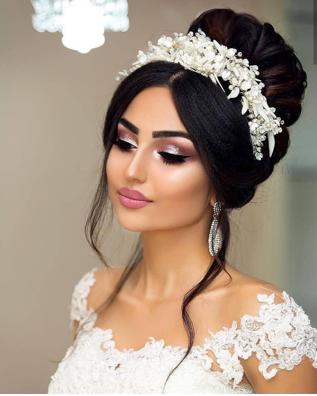 Makyajhileleri Makyajfikirleri Gelinmakyaji Gozmakyaji Makeuptips Bridal Hair And Makeup Wedding Hair And Makeup Wedding Makeup Looks