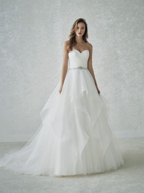 St. Patrick White One FLORIDA organza Teréz Krt. 39. | Wedding dress ...