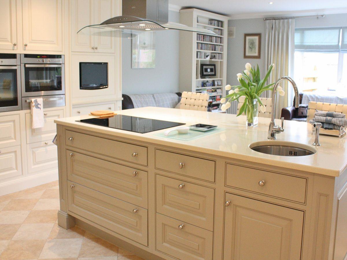 """Modern Country"" kitchen design in Wicklow, Ireland by"