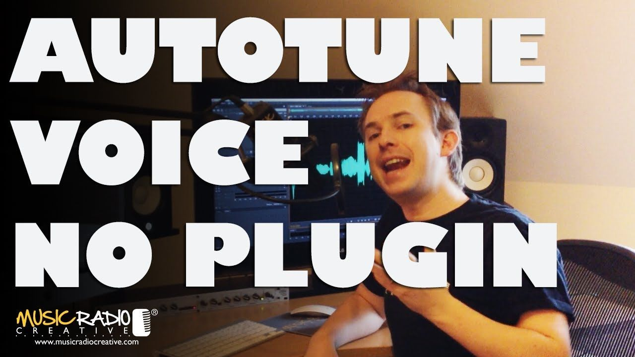 how to add autotune to adobe audition