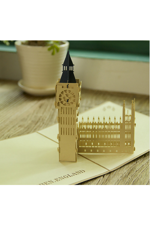3d Pop Up Big Ben London Grusskarte Kirigami Grusskarte Kirigami Patterns