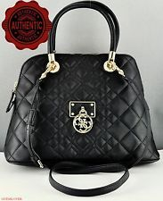 Guess Ladies Handbag Genuine Satchel Tote New Bag Black Aliza Authentic a17b6ca3eb8f2