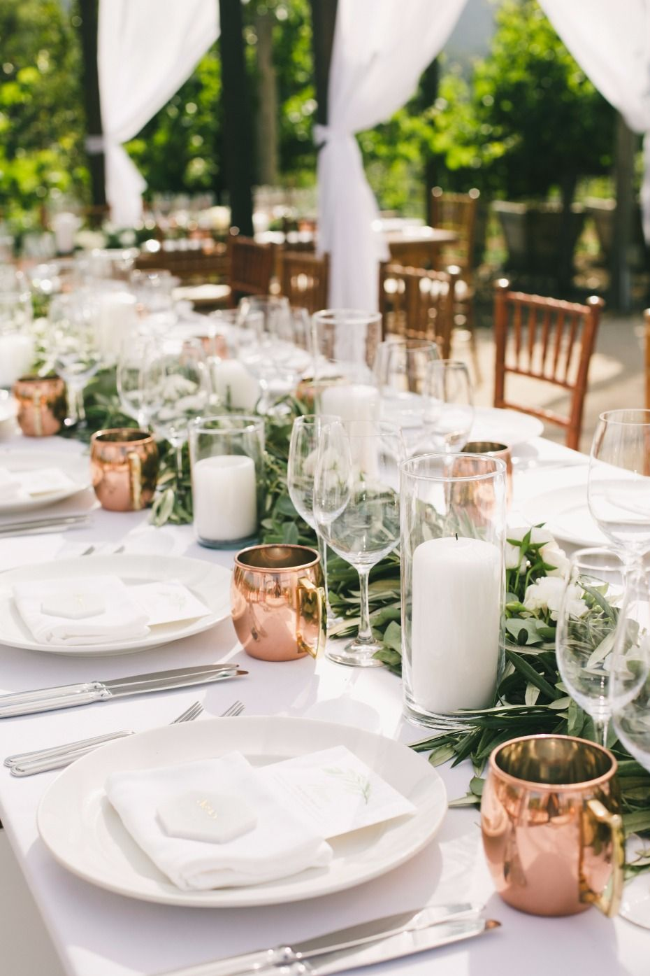 2c91b7acdd63 Natural and Airy Vineyard Destination Wedding in Napa