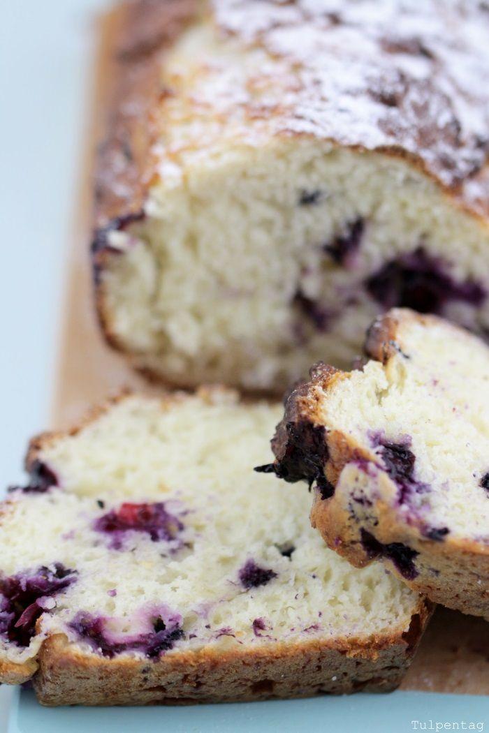 Schneller Quarkkuchen Mit Heidelbeeren Susses Backen Pinterest