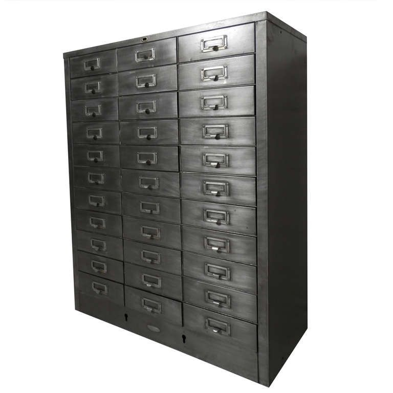 Cole Steel Industrial Metal File Cabinet | From A Unique Collection Of  Antique And Modern Cabinets Good Ideas