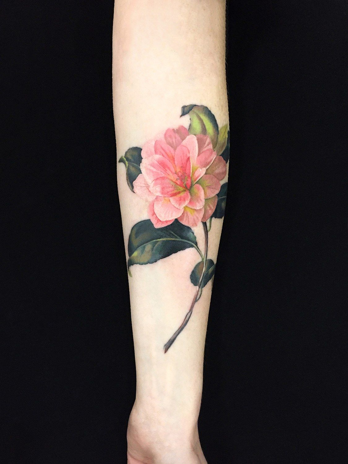 This New York Tattoo Artist Is Inking A Love Poem Onto 30 Strangers For Valentine S Day Floral Tattoo Watercolor Tattoo Artists Watercolor Tattoo