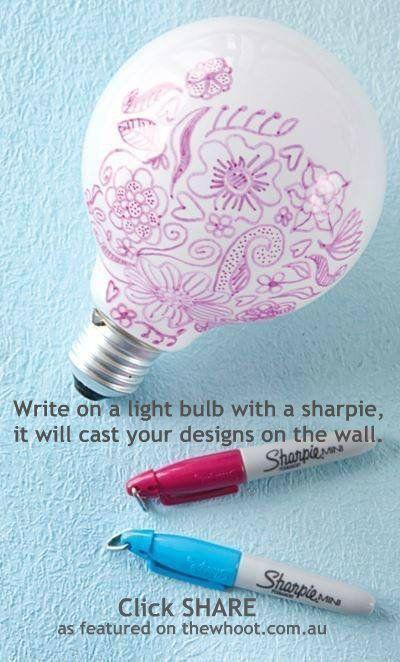 Photo of Tolles Handwerk für Teenager! Diese DIY Doodle Glühbirne ist eine einfache Basis …