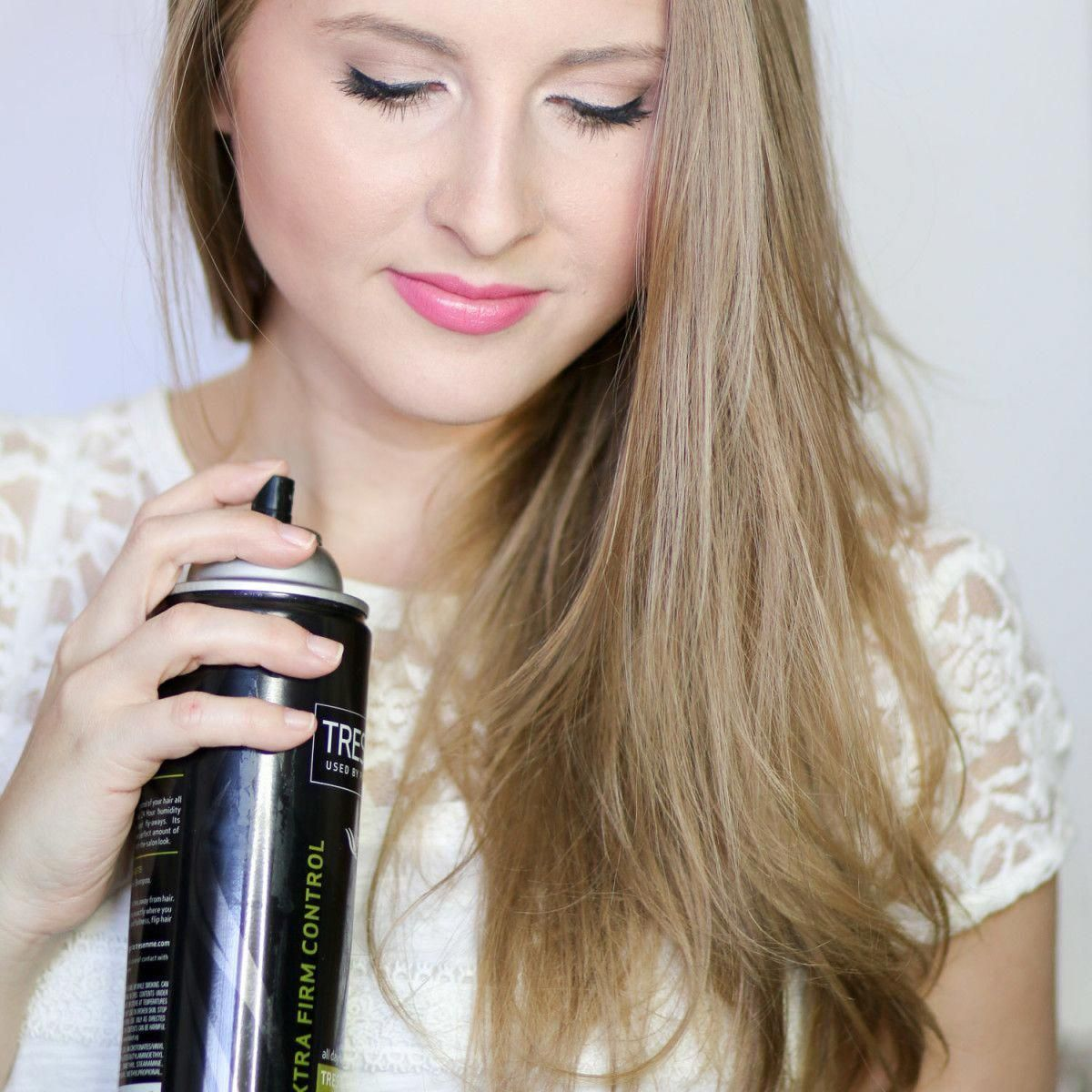 Learn how to fake a salon blowout at home with this easy