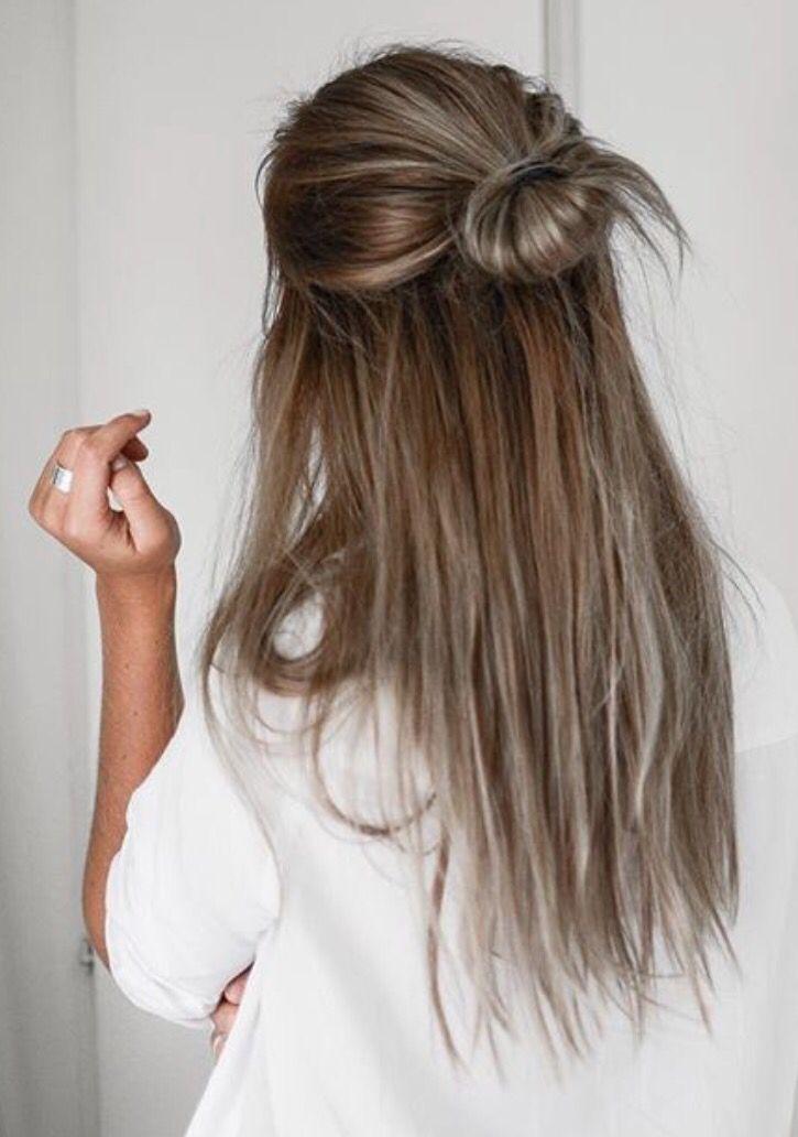 Pinterest Erin Madruga Long Hair Styles 5 Minute Hairstyles Hair Styles