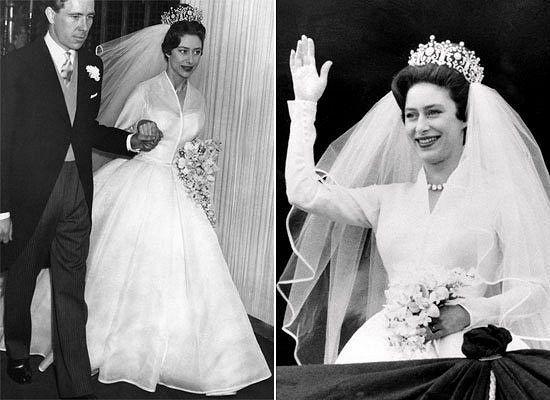 Queen Elizabeth And Her Sister Princess Margaret Both Wed In