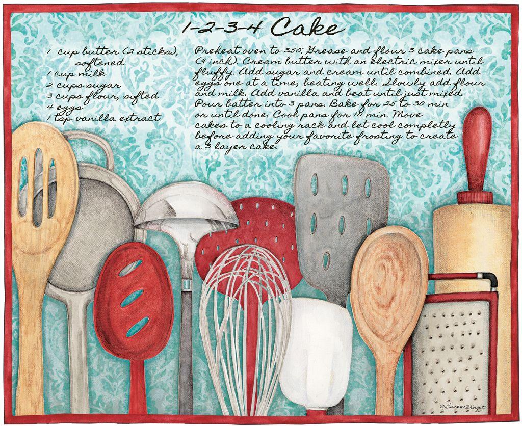 Lang March 2014: American Kitchen, utensilios de cocina, decoupage ...