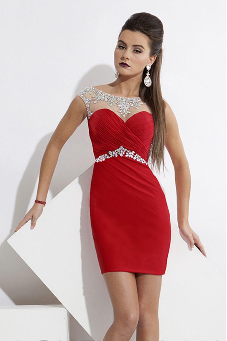 sexy sheathcolumn homecoming dresses scoop shortmini open