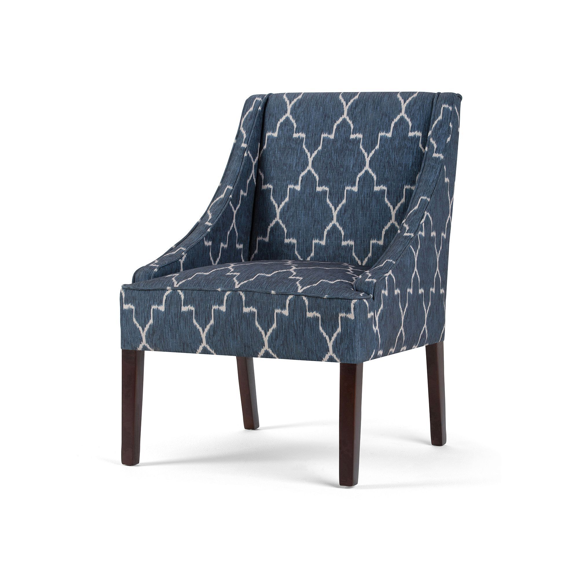 Best Simpli Home Hayworth Moroccan Accent Chair Accent Chairs 640 x 480