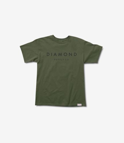0cd8b0c365d Diamond Supply Co Stone Cut Tee in Military Green S-XXXXL NWT