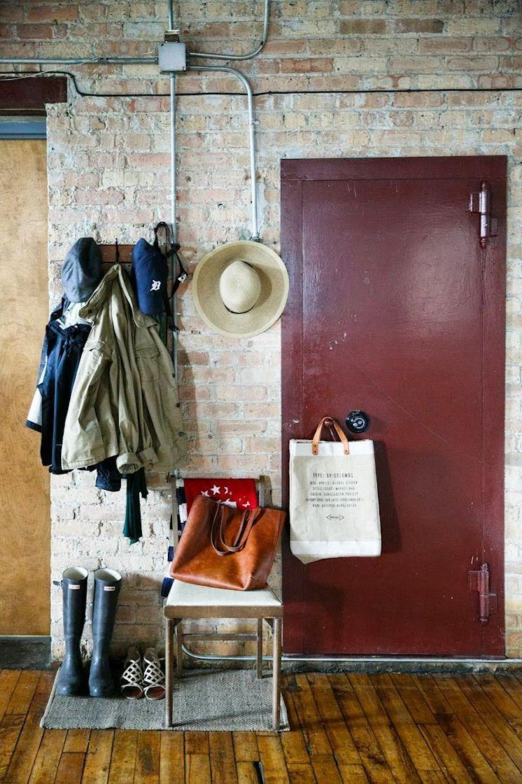 Loft estilo industrial y vintage con ideas para dividir ambientes