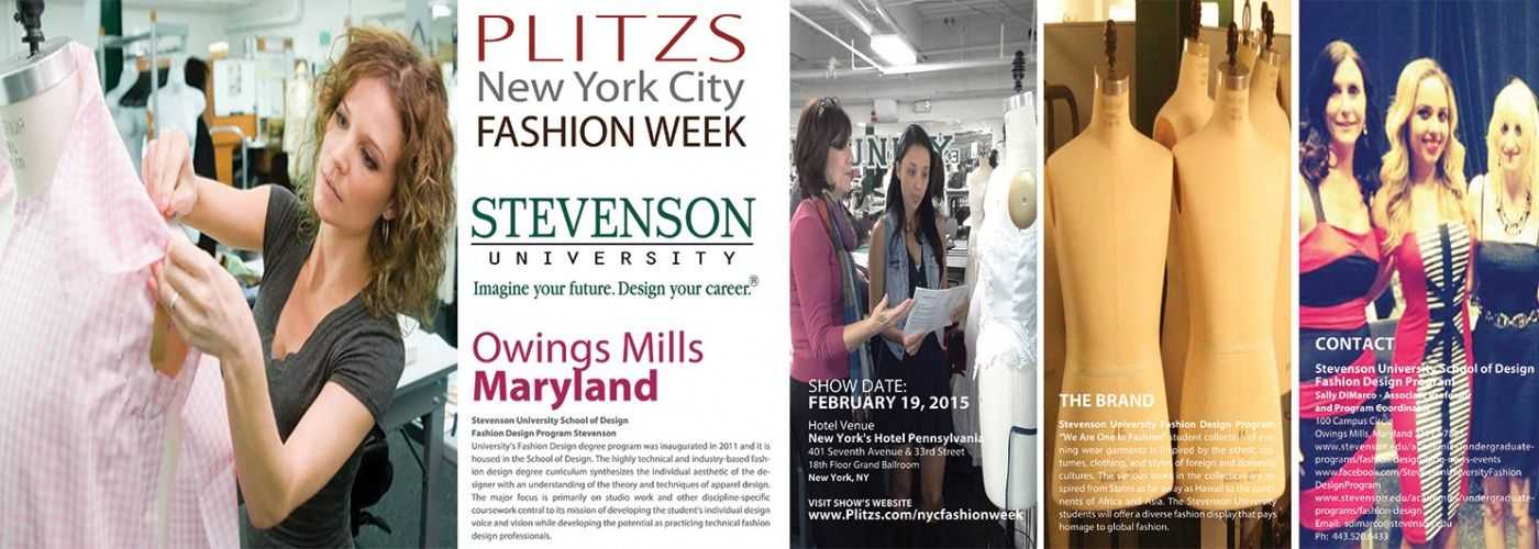 Stevenson University Fashion Design Program University Style City Style Stevenson University