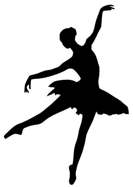 BALLERINA Vinyl Decal Sticker Car Window Wall Bumper Ballet Dancer Studio Laptop