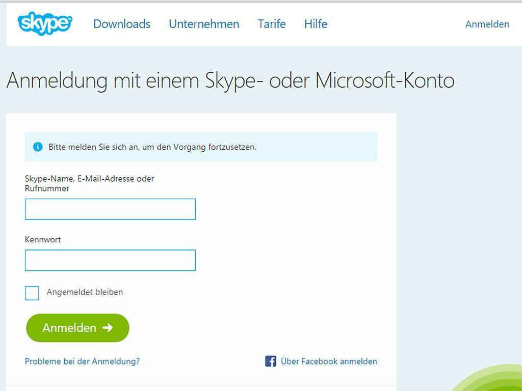 Skype Passwort Vergessen Das Musst Du Tun Vergessen Getan Und Unternehmungen