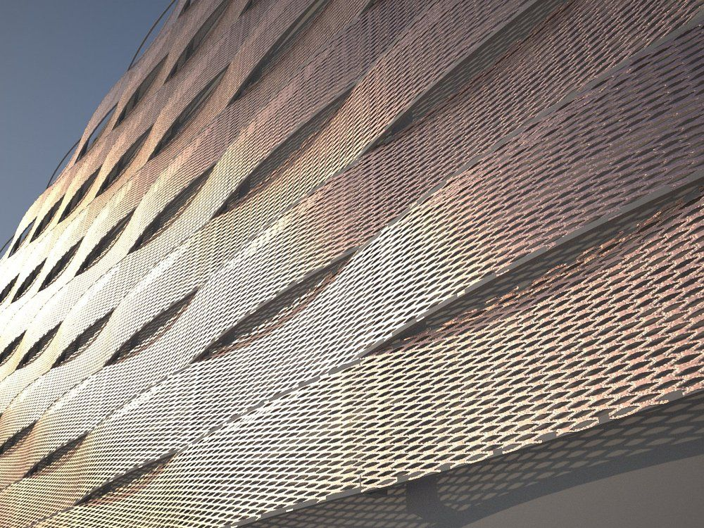 Image Result For Expanded Mesh Screen Facade Screens