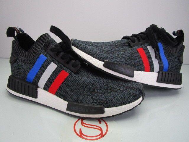 1dcfdd2be14f9 DS Adidas NMD R1 PK BB2887 TRI COLOR BLACK 9.5  fashion  clothing  shoes