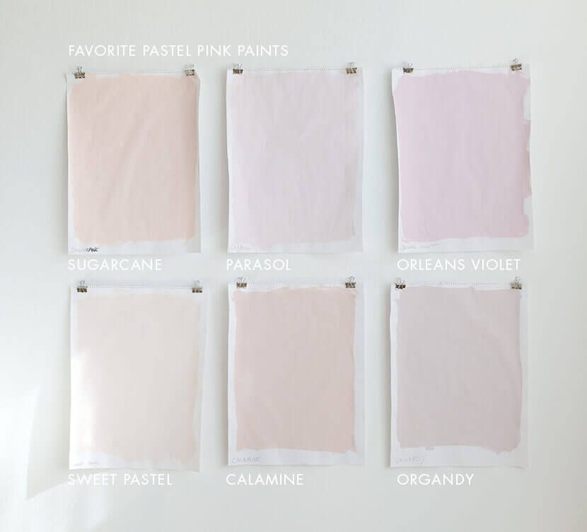 I Think Want A Pale Pink Room In My House Bookmarking This Post Favorite Pastel Paint Colors For Grown Ups