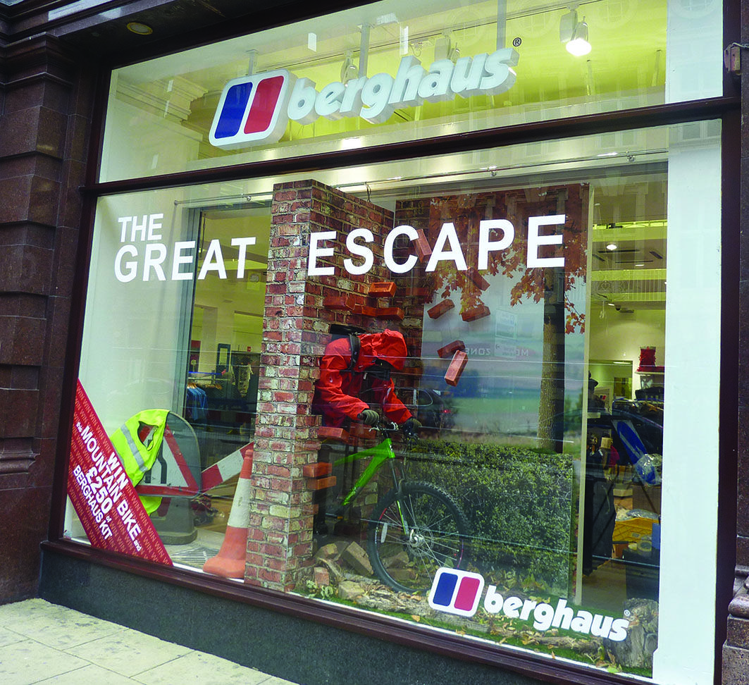 sports shoes 33da5 84471 Berghaus Great Escape Window Display 032 Design Ltd, Leic ...
