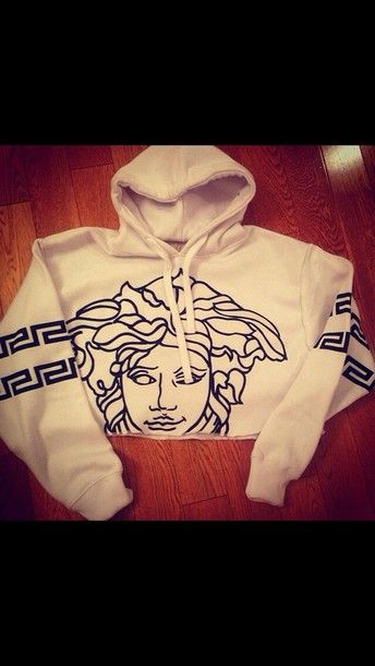 sweater versace medusa hoodie alternative