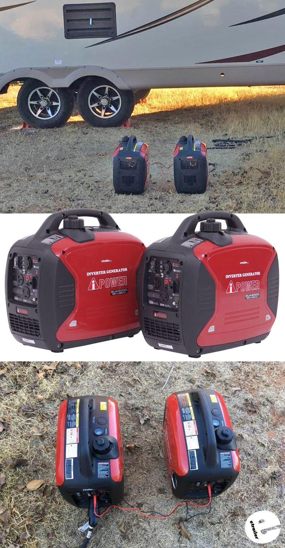 AiPower 3,800Watt Portable Inverter Generators 3,000